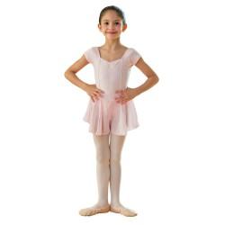 Body Danza Bambina con gonnellino Rudolf PAQUITA