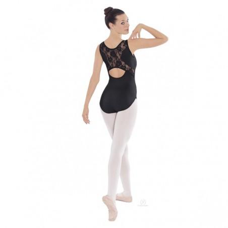 Body Danza Eurotard 45871 Microfibra e Pizzo