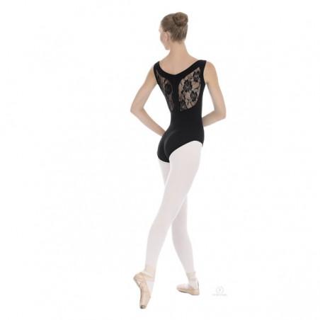 Body Danza Eurotard 45879 Microfibra e Pizzo