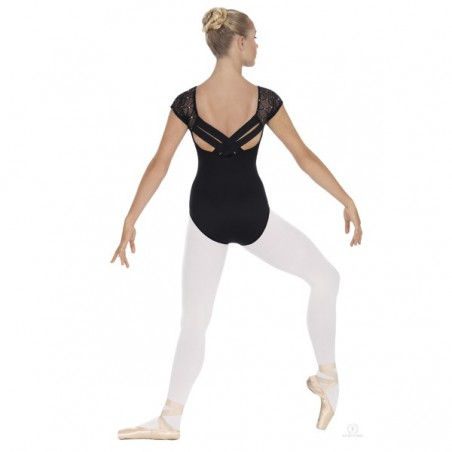 Body Danza Eurotard 45881 Inserto Rete e Strass