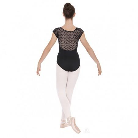Body Danza Eurotard 61818 Pizzo con Margherite