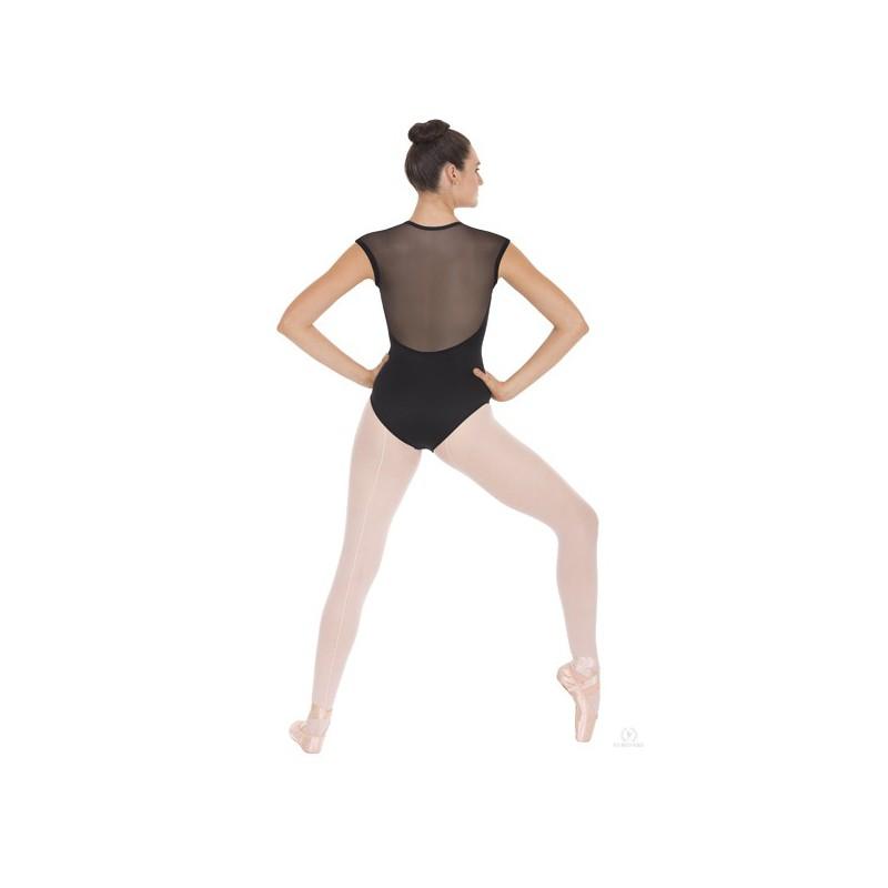 Body Danza Eurotard 44818 Schiena Maglia Velata