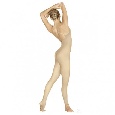 Tuta Danza Senza Cuciture con Piede Convertibile Eurotard 95705
