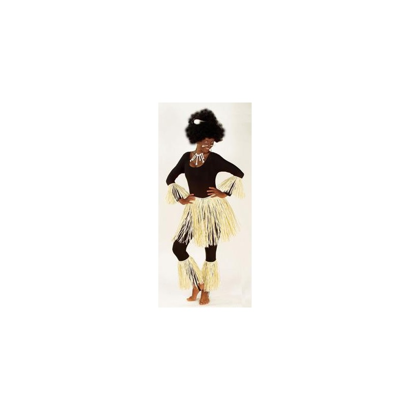 COSTUME ZULU IN RAFIA
