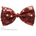 PAPILLON IN PAILLETTES ROSSO
