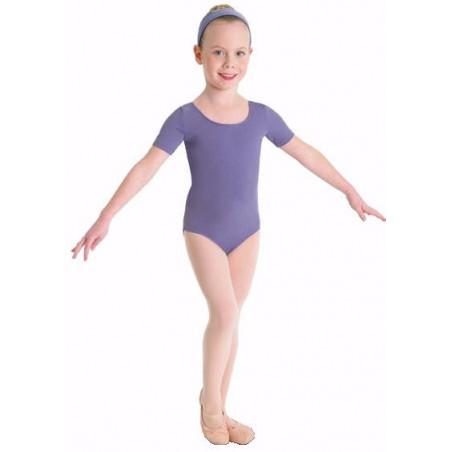 Body Danza Bambina - Bloch Manica Corta Cotone