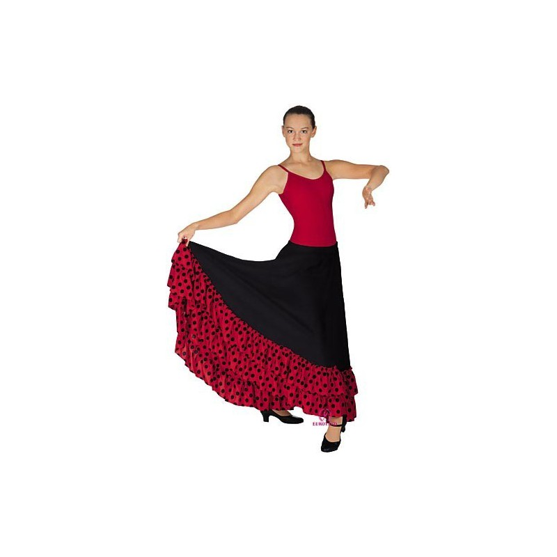 GONNA FLAMENCO DOPPIA BALZA POIS