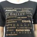 T-SHIRT DANZA BALLETTI Colore Nero