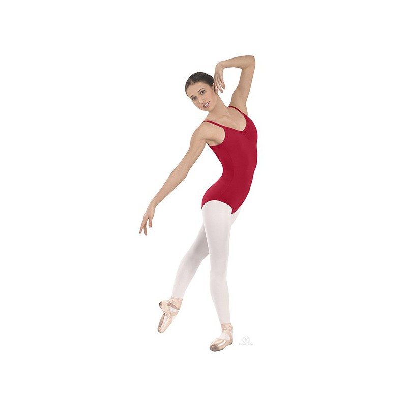 Body Danza Donna Spallino In Cotone