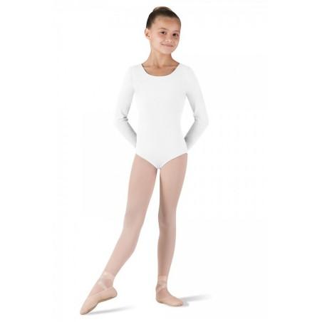 Body Danza Bambina - Bloch Manica Lunga Cotone