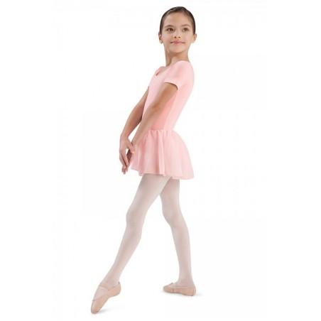 Body Danza Bambina con gonnellino Bloch TIFFANY
